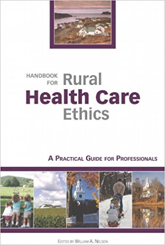 Cover of the Handbook for Rural Health Care Ethics
