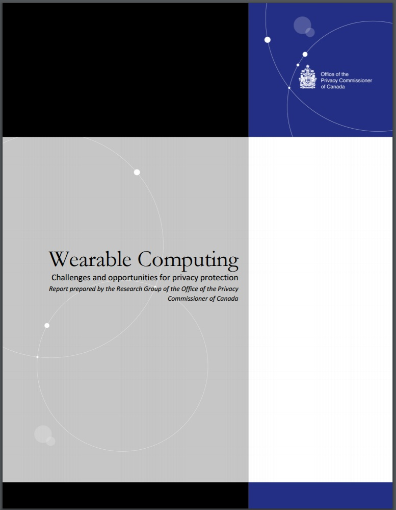 Wearable Computing: Challenges and opportunities for privacy protection