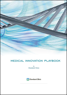 Medical Innovation Playbook Cover