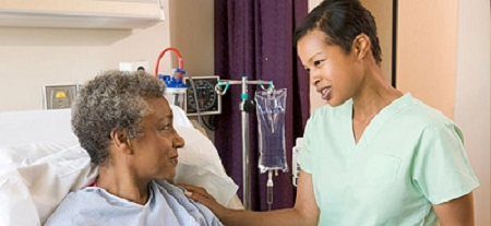 Individual receiving care